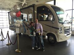 CLAUDIA AND ROBERT's new 2017 THOR VEGAS! Congratulations and best wishes from Beaver Coach Sales & Service and Ryan Kelly.