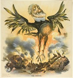 Joseph Keppler American, 1638-1894, The Phoenix, from Puck