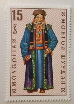 Mongolian stamp I purchased in Ulan Bataar