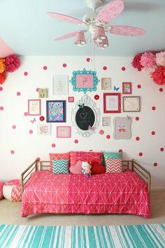 Дизайн детской комнаты для девочек: 100 фото воплощений розовой мечты http://happymodern.ru/detskie-komnaty-dlya-devochek-70-foto-voploshhenij-rozovoj-mechty/ komnata_devochki_071