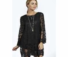 boohoo Maddie Flower Lace Long Sleeve Smock Dress - Nineties revival reigns supreme with the spaghetti- strap slip dress stealing the what's hot top spot. Feminine, floaty fabrics and floral prints are our fave, with midi lengths a must-have. Go boho i http://www.comparestoreprices.co.uk/dresses/boohoo-maddie-flower-lace-long-sleeve-smock-dress-.asp