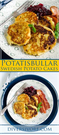 Potatisbullar - Swedish Potato Cakes - #sponsored by BC Egg. Made with simple kitchen staples, these delicious, crispy-on-the-outside, creamy-on-the-inside cakes are endlessly adaptable and sure to please. #potatorecipe #potatocake