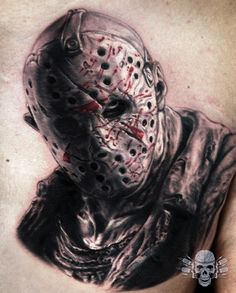 A really fun #jasonvoorhees i did last year, took about 6 hours to complete  For contact and booking info please visit : www.TattooedTheory.com www.TattooedTheory.com www.TattooedTheory.com  All done using my Spektra EdgeX from FK Irons  @fkirons @tattooistartmag @skinart_mag @skinart_collectors @tattoomediaink @sullenclothing  #worldfamousink #fkironsproteam #spektrarotary #spektra  #fkirons #art #ink #tattoo #realistictattoo #tattooedtheory #javitattooedtheory #instagood #instaart…