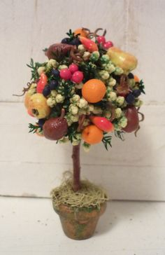 Beautiful Della Robia Tree by KristinaBears on Etsy, $30.00