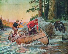 Adventures On The Nipigon Print By Jq Licensing