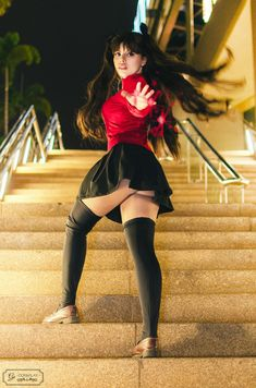 Cosplayer: Ge Cos & Play (FB) (Twitter) (Instagram) (Tumblr) Character: Rin Tohsaka From: Fate/Stay Night Photo&Edit: Hugo Fernandes