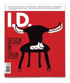 I.D. Magazine — May 2009  Illustration by Javier Mariscal