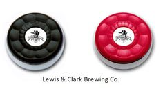 Custom Table Shuffleboard Puck Weights Made for Lewis & Clark Brewing