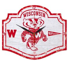 Buy A Vintage Throwback Wisconsin Badgers House Flag From