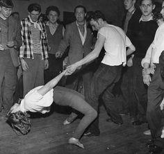 Rock'n'Roll Dance Show, Great Britan, 1955
