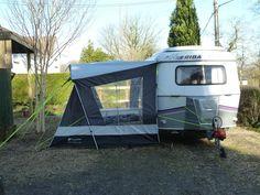Eriba Pan Duo with Outdoor Revolution Tech 200 canopy.