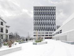 Bundesverwaltungsgericht St.Gallen Staufer & Hasler Architekten, Frauenfeld
