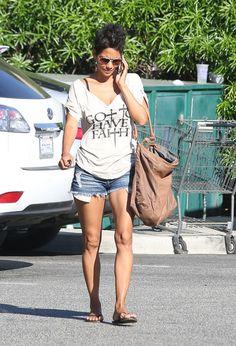 Halle Berry Maxi Dress - Halle Berry Looks - StyleBistro
