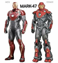 All MCU Ironman Suits & comparison with Comic suits. Marvel Comics, Heros Comics, Marvel Comic Universe, Marvel Heroes, Marvel Characters, Marvel Avengers, Iron Man Art, Avengers Pictures, Iron Man Tony Stark