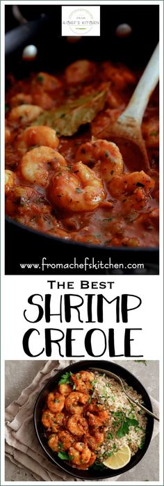 Sharing The Best Shrimp Creole! Friends, this is IT! This New Orleans-inspired dish is one I've been making for clients for as long as I've been a personal chef and this recipe never fails to please! via # Easy Recipes fish The Best Shrimp Creole Louisiana Recipes, Cajun Recipes, Fish Recipes, Cooking Recipes, Shrimp Creole Recipes, Haitian Recipes, Donut Recipes, Gourmet Recipes, Best Seafood Recipes