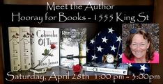 Your are cordially invited to MEET THE AUTHOR Saturday, April 28th 1pm to 3pm Hooray for Books 1555 King St Alexandria, VA  22314 #booksigning #bookclubs #blogging #author #writer of #romance #novels and #fiction #books about #family #childhood #parenting #love #loss #choices #mistakes #forgiveness  #alexandria  #alexandriava #FHHS #forthunt #amreading https://www.facebook.com/booksbytesajones/ https://www.hooray4books.com/calendar/2018/4/28/independent-bookstore-day-meet-author-tesa-jones