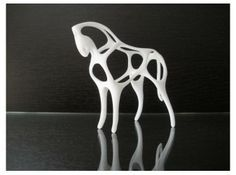 Horse 3d printed Art