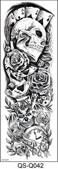 New Full Flower Arm Tattoo Sticker Fish Peacock Lotus Tempo. - New Full Flower Arm Tattoo Sticker Fish Peacock Lotus Temporary Body Paint – - Full Body Tattoo, 1 Tattoo, Full Sleeve Tattoos, Chest Tattoo, Mens Body Tattoos, Baby Tattoos, Flash Tattoos, Maori Tattoos, Badass Tattoos