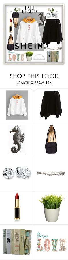 """""""fall beauty"""" by anelia-georgieva ❤ liked on Polyvore featuring Carven, Chinese Laundry, Pearls Before Swine and L'Oréal Paris"""