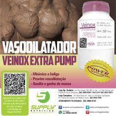 Veinox Extra Pump tem uma nova fórmula desenvolvida pelo mesmos criadores do…