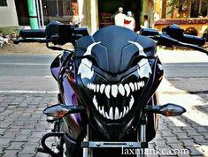Best Headlights, Ns 200, Bike Pic, Golf Bags, Sticker Design, Cool Photos, Biker, Head Light, Motorcycle