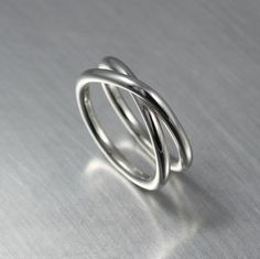 X Ring, Crisscross Ring, Silver Infinity Ring by JenniferWood on Etsy https://www.etsy.com/listing/206662383/x-ring-crisscross-ring-silver-infinity