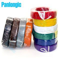 Panlongic 5メートルul1007 24awg 1.4ミリメートルpvc電子ケーブルul認証
