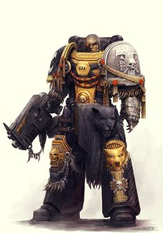 the-emperor-protects: Brother Pardis of the Tiger Argent Chapter, currently a member of the deathwatch Byhttp://alexboca In other words, pure awesomness.