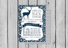 Hey, I found this really awesome Etsy listing at https://www.etsy.com/listing/239226041/rustic-deer-baby-shower-invite-antler