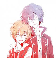 [Pandora Hearts] Gilbert Nightray and Oz Vessalius