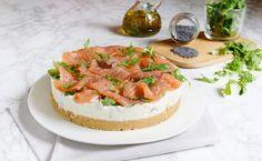 Cheesecake al salmone, ricetta