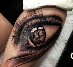 Best Eye Tattoo Design On Girl Thigh - Tattoo Body Art Tattoos, Tattoo Drawings, Small Tattoos, Tattoos For Guys, Sleeve Tattoos, Tattoos For Women, Sketch Tattoo, Family Tattoos, Tattoo Women