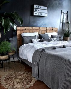 28 gray bedroom ideas to make beautiful your home 2 Interior Design Living Room, Bedroom Inspirations, Living Room Colors, Bedroom Design, Interior Design Bedroom Teenage, Interior Design Bedroom Small, Interior Design Bedroom, Bedroom Decor, Small Bedroom