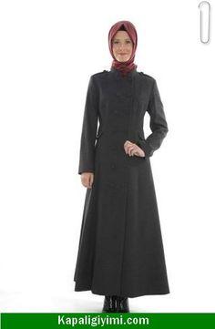 Kapalı Giyim Manto Modelleri 2015
