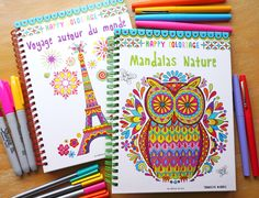 Happy Coloriage - Coloring Books in French by Thaneeya McArdle