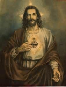 The Sacred Heart of Jesus .                                                                                                                                                                                 Mais