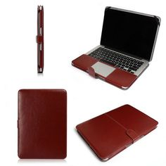Cheap Laptop Bags & Cases, Buy Directly from China Suppliers:PU Leather Laptop Case For Apple Macbook Air 11 13 Inch Protector Case Cover For Mac Book Ultrabook Notebook BagUS $ 11.