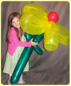 Oh Wow! Balloons: 646 Flower