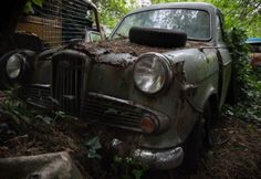 Tucked away in the woods, somewhere in northern england is a rustic time capsules slowly taken back by nature. [cycloneslider id=cars]
