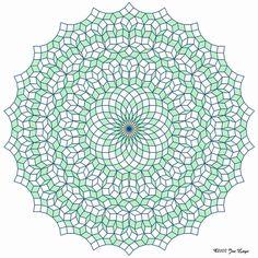 Gallery : Penrose tilings