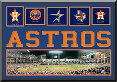 Houston Astros Minute Maid Park Double Matted With Houston Astros Wool Felt Logos With Team Name Mat Cut Out Letters-Framed With 1 1/12 Inch Black Frame-Must For A Championship Team Fan! Most Teams Available-Please Go Through Description & Mention In Gift Message If Need A different Team. ArtandMore, Davenport, IA http://www.amazon.com/dp/B00M3ZFHNA/ref=cm_sw_r_pi_dp_sY2Bub1NDXBX2