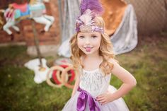 The Circus Has Come To Town. Tutu du monde rather hazy. The borrowed boutique. Shone Foto. Michigan Photographer. Circus Photo Shoot. 4 years old