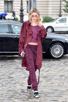 Celebrity Sighting : Day Five - Paris Fashion Week Womenswear Fall/Winter 2017/2018