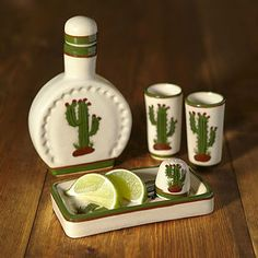 dda10d602601 Cactus Tequila Set - on trend  cactus National Tequila Day