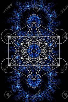 CRIANDO VIDA: -M.E.R.-K.A.-B.A.- Carruagem Cabalística - Sacred Geometry Patterns, Sacred Geometry Art, Sacred Art, Flower Of Life Tattoo, Psychadelic Art, Yoga Studio Design, Muster Tattoos, Alchemy Symbols, Magic Circle