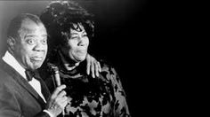 Satchmo Louis Armstrong and Ella Fitzgerald