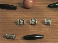 How to Make Hemp Necklaces : Hemp Necklace Bead Design Tips - YouTube
