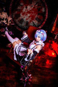 Rem [レム] - chaatenn Rem Re:Zero kara Hajimeru Isekai Seikatsu Cosplay Photo…