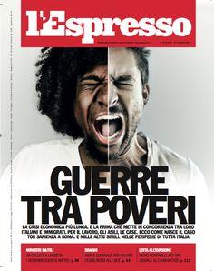 La copertina dell'Espresso in edicola da venerdì 21 novembre