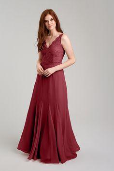 Shop Weddington Way Bridesmaid Dress - Mila in Poly Chiffon   Lace at  Weddington Way. dfab4627a10f